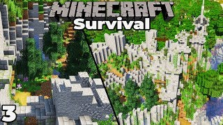 Let's Build a RUINED CASTLE #3 How to ruin a build in Minecraft 1.14 Survival Let's Play