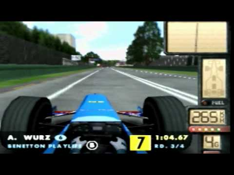 F1 World Grand Prix II Nintendo 64