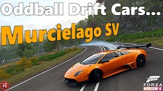 Forza Horizon 4: Oddball Drift Cars | Lamborghini Murcielago SV, WIDEBODY Twin Turbo Drift Build!