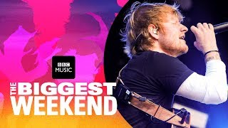Video Ed Sheeran - Shape of You (The Biggest Weekend) MP3, 3GP, MP4, WEBM, AVI, FLV Januari 2019