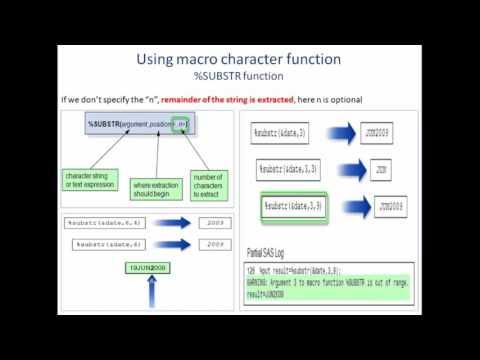 Macro Functions
