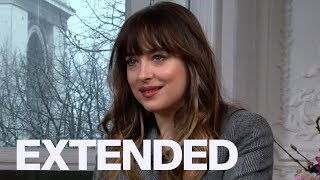 Dakota Johnson Reveals 'Fifty Shades' Ice Cream Scene Flavour | EXTENDED