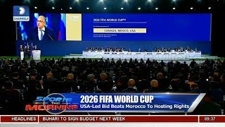 Football Taking It's Place In The US, Analyst Reacts To Successful 2026 World Cup Bid