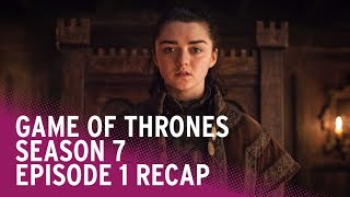 Game of Thrones season 7 episode recap from Radio Times. Everything you need to know about the most recent show in season 7 of GoT with Huw Fullerton and Sarah Doran.And some clues and mild spoilers of what to expect in s7e2
