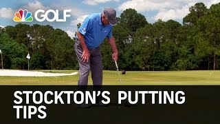 Stockton's Putting Tips - Golf Channel Academy | Golf Channel