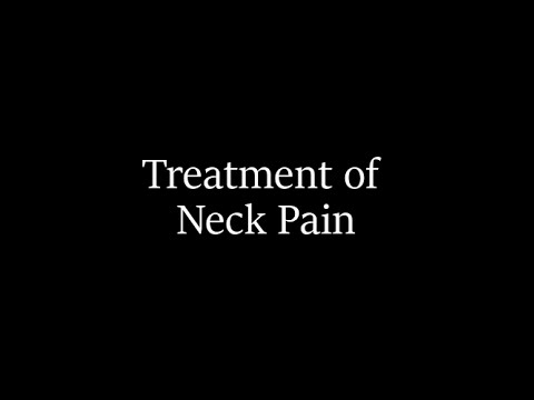 Dr. Herbold's Approach to Treating Neck Pain