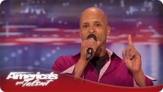 Reggie's Ready to Party but Howard Says No - America's Got Talent Audition Season 7