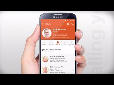Video of Intelius People Search/Call ID