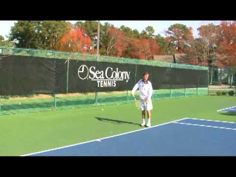 Tennis Tip: The Serve