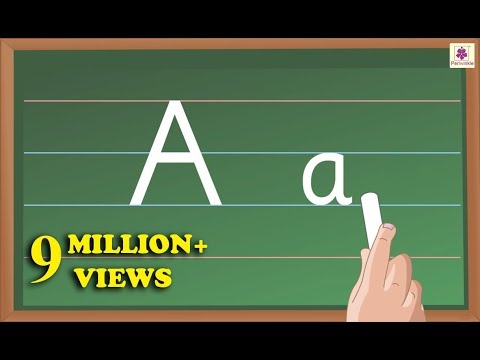 Writing Alphabet Letters For Children | Alphabet For Kids | Periwinkle | Part 2