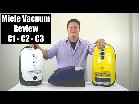 Miele Vacuum Review - Compare C1, C2 & C3 Series