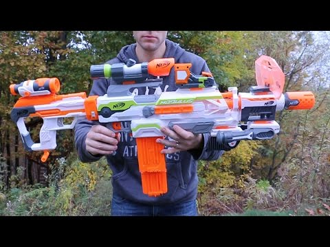 Nerf War: Honest Review of the N Strike Modulus Upgrade Kits All Attachments