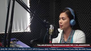 Episode 8 with Regulatory Division Chief Rufina S. Sanidad