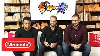Super Bomberman R – Nintendo Treehouse: Live with Nintendo Switch
