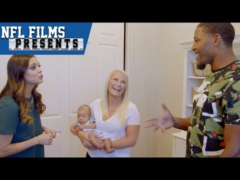 Video: David Johnson & Katie Nolan Talk on Family, Dodgeball Skills & More! | NFL Films Presents