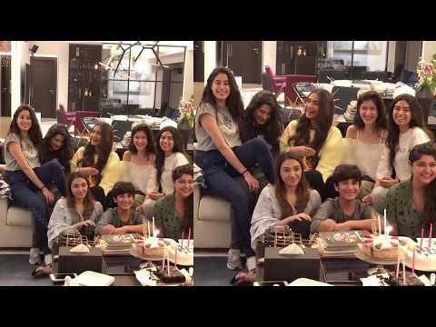 Janhvi Kapoor Celebrates Birthday With Sonam Kapoo