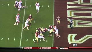 Xavier Rhodes vs WF and Clemson (2012)