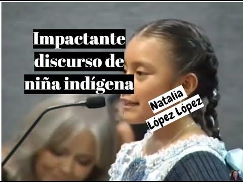 IMPACTANTE DISCURSO DE NIÑA INDIGENA - lorenalara144