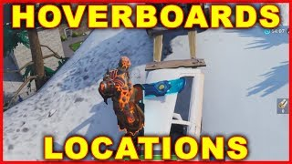 Fortnite Hoverboard Locations (WHERE TO FIND HOVERBOARDS)