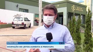 Covid-19: ocupação de leitos chega a 100% em Sorocaba