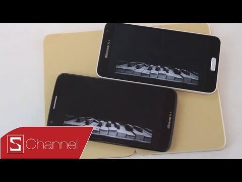 Schannel HCM - So Sánh Galaxy J và LG G2 Docomo : Thiết kế, màn hình, camera ... - Phần 1