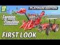 Farming Simulator 2017 Platinum Edition | First Look Gameplay