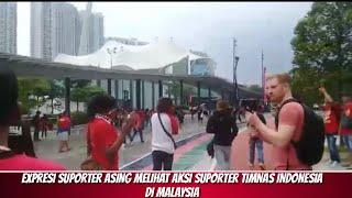 Video EXPRESI SUPORTER ASING MELIHAT AKSI SUPORTER TIMNAS INDONESIA DI MALAYSIA MP3, 3GP, MP4, WEBM, AVI, FLV September 2019
