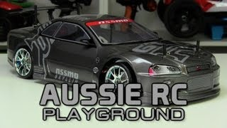 Unboxing Hobby King Mission-D 4WD GTR Drift Car