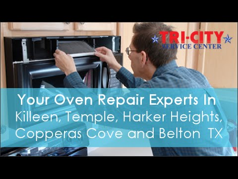 Oven Repair in Killeen TX - Review Video