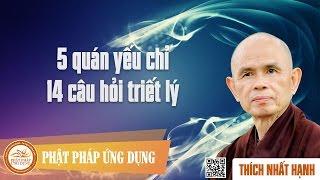5 Quán Yếu Chỉ - 14 Câu Hỏi Triết Lý - Thiền Sư Thích Nhất Hạnh