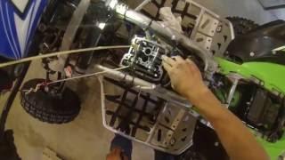 7. How to adjust valve clearance - kfx450r