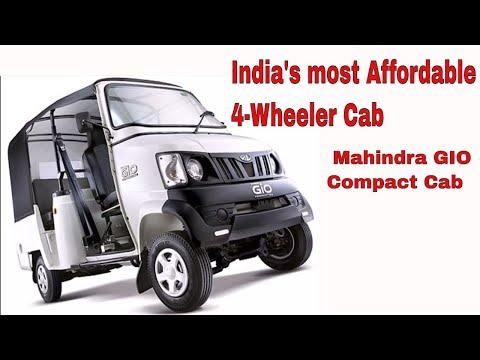 Launch of Mahindra's GIO Compact Cab