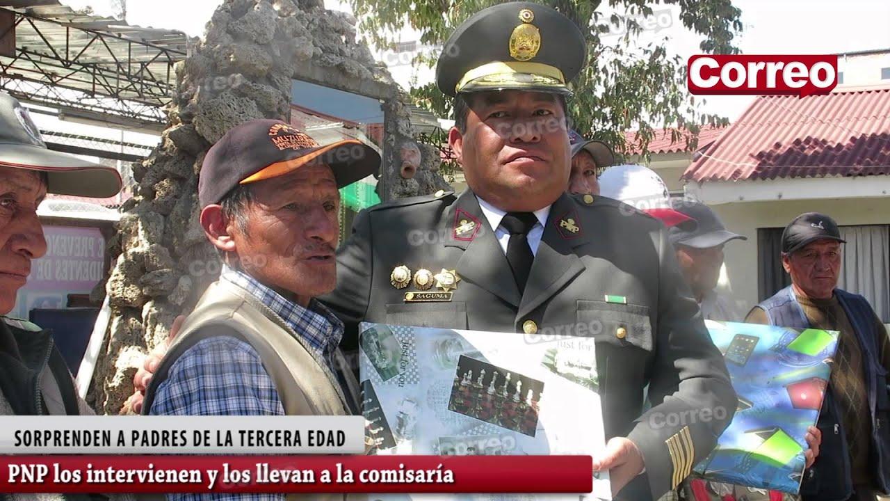 PNP DE HUANCAYO FINGE DETENER A CHOFERES ANCIANOS Y LOS LLEVA A LA COMISARÍA