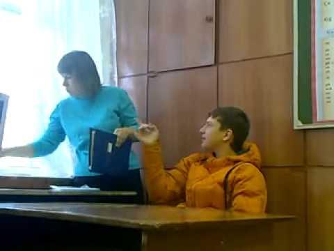 Наглый школьник огрызается с учителем - DomaVideo.Ru