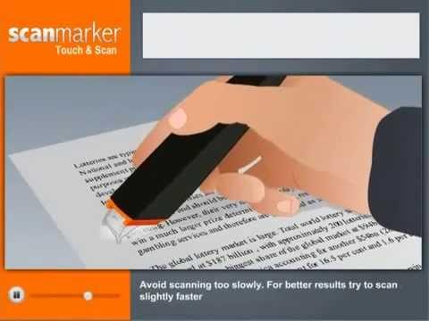 ScanMarker - urządzenie do skanowania treści