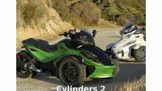 5. 2012 Can-Am Spyder Roadster RS-S  Engine Specification Dealers motorbike Transmission