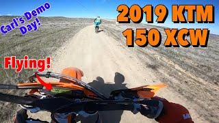 1. 2019 KTM 150 XCW | Carl's Demo Day!