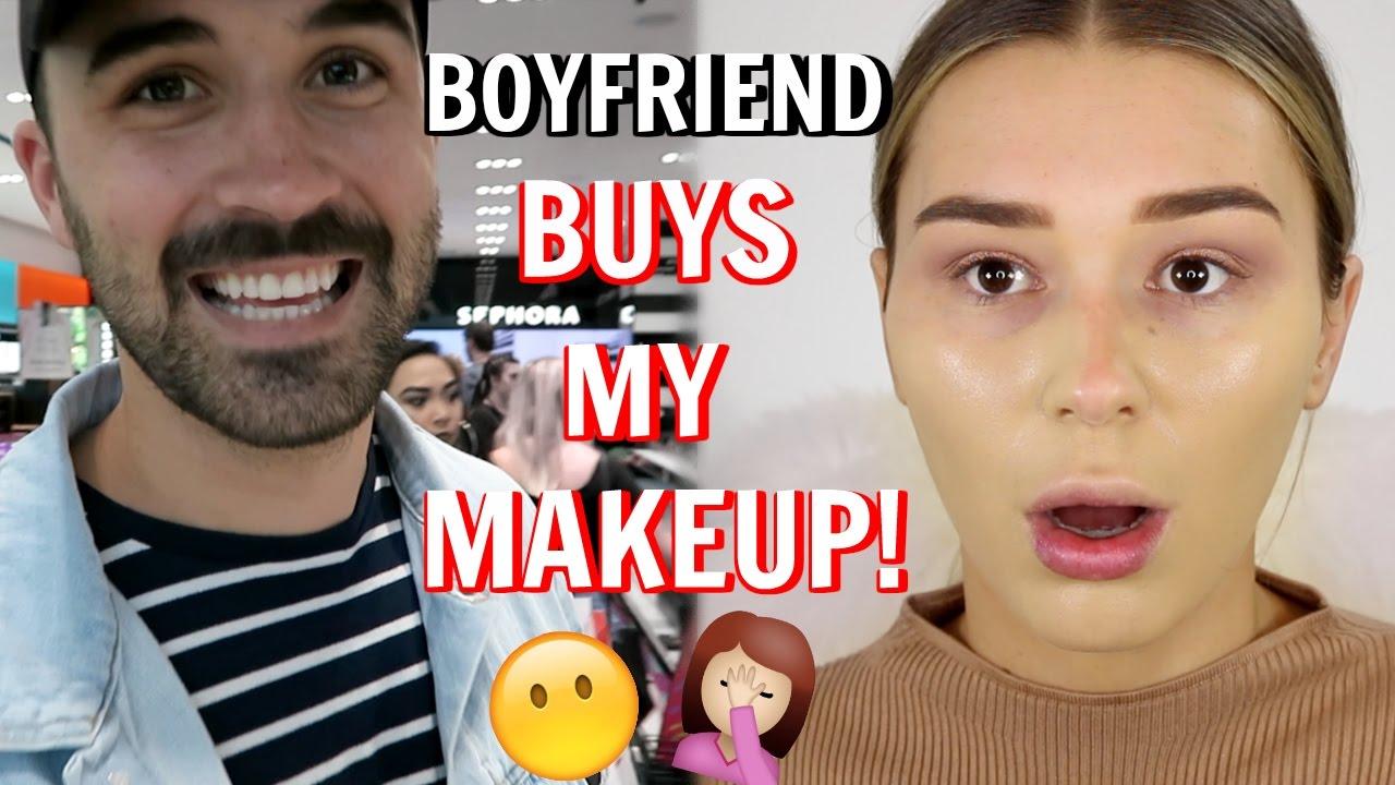 My Boyfriend Buys My Makeup | SHANI GRIMMOND