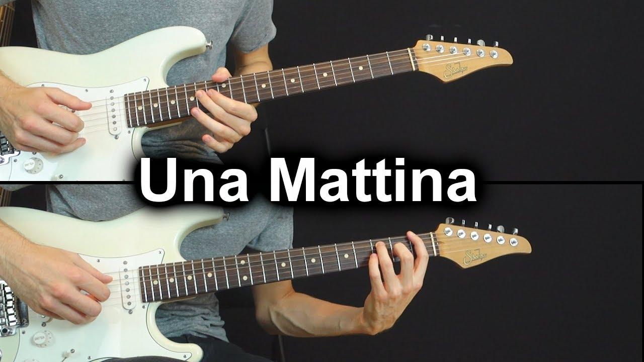 Ludovico Einaudi – Una Mattina – Electric Guitar cover