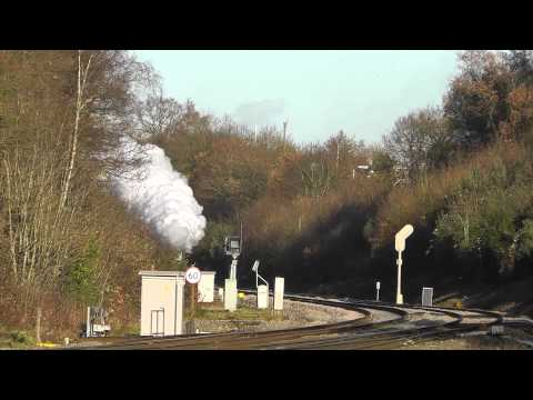 LMS Black 5's 44871 & 45407 on The Cathedrals Express at ...