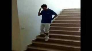 How To Slide Down The Stairs - Like A Boss
