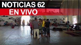 La frustración crece en las caravanas de migrantes. – Noticias 62. - Thumbnail