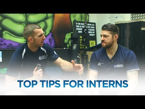 Top Tips for Strength & Conditioning Interns