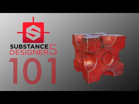 Substance Designer 5 - Introduccion - Tutorial Español