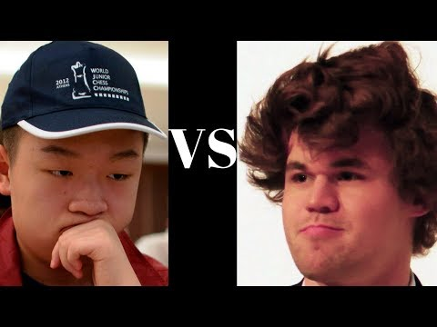 Wei Yi vs Magnus Carlsen  Notable chess game: Tata Steel (2016)  : Marshall Gambit