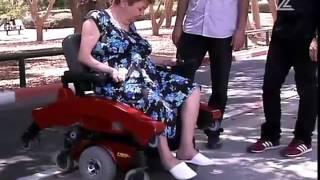סטפ אפ - כיסא גלגלים שיכול לעלות ולרדת מדרגה