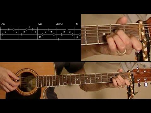 O Holy Night guitar lesson – beginner friendly