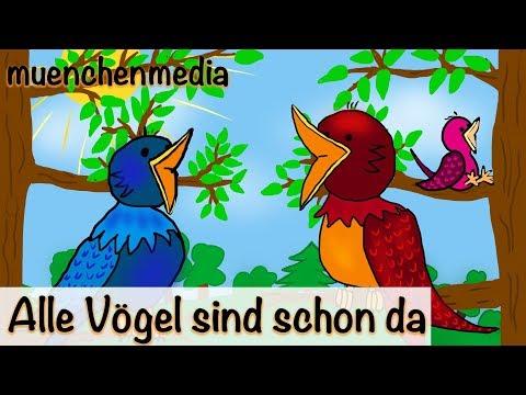 Alle Vögel sind schon da | Kinderlieder deutsch | Frühlingslied | muenchenmedia