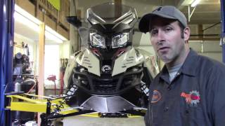 8. Ski-Doo 1200 Oil Change PART 1 by RawFuelTV