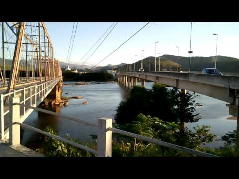 São fidelis city a antiga ponte 🌉